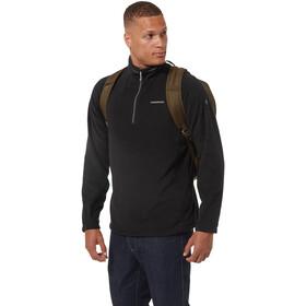 Craghoppers Corey VI Camiseta Media Cremallera Hombre, negro